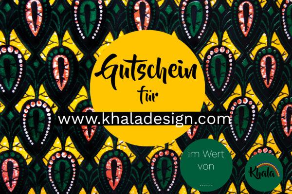 Khala Gutschein