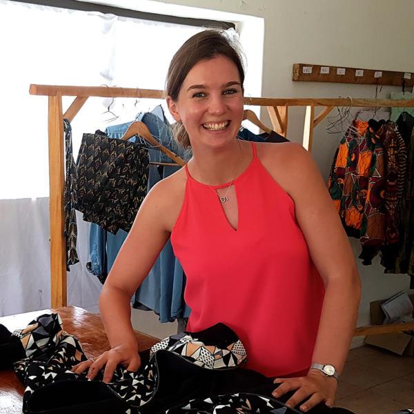 Sarah Roos - Projektmanagerin